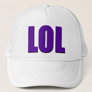 LOLの紫色 キャップ