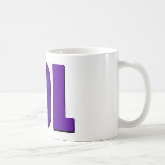 LOLの紫色 コーヒーマグカップ