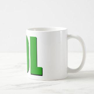 LOLの緑 コーヒーマグカップ