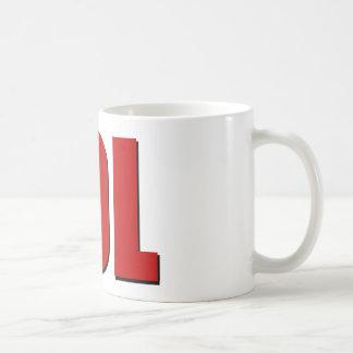 LOLの赤 コーヒーマグカップ