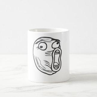 LOLの顔 コーヒーマグカップ