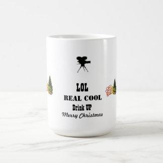 LOLは涼しいマグのメリークリスマスを実在します コーヒーマグカップ