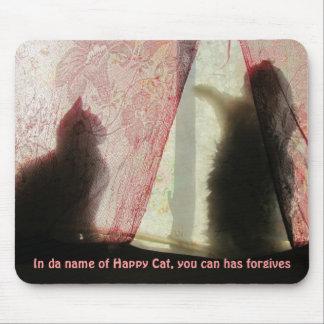 lol猫の告解室 マウスパッド