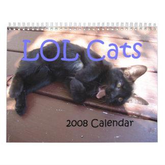 LOL猫2008のカレンダー カレンダー