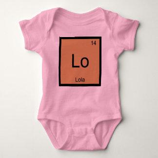 Lola一流化学要素の周期表 ベビーボディスーツ