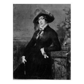 Lola Montez 1844年のポートレート ポストカード