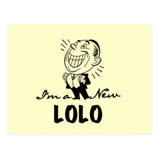 Loloの微笑の新しいTシャツおよびギフト ポストカード