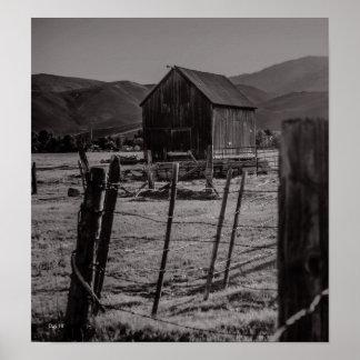 Lompa牧場、カーソンシティー、ネバダ ポスター