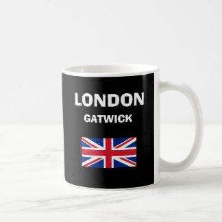 London* Gatwick空港LGWコードマグ コーヒーマグカップ