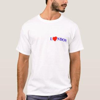 London red heart tシャツ