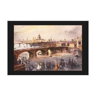 London', William_Engravingsの一般的な見解 キャンバスプリント