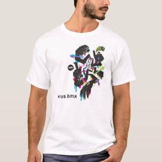 longarm Tシャツ、ウイルスのbmx Tシャツ