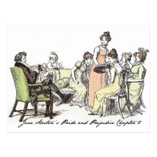 Longbourn -ジェーンAusten P&Pのベネット ポストカード