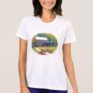 LONGFELLOWの路傍の碾き割りの製造所 Tシャツ