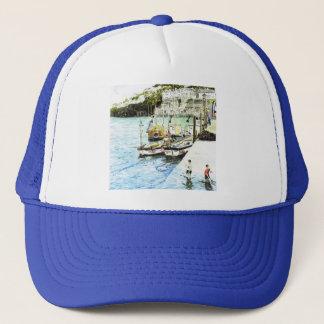 「Looe港」の帽子 キャップ