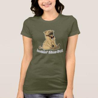 Lookin Shar-Pei Tシャツ