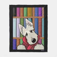 Barkley Scottish Terrier主のフリースブランケット