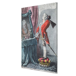 Lordly高度、パブ。 ハナHumphrey著、1802年 キャンバスプリント
