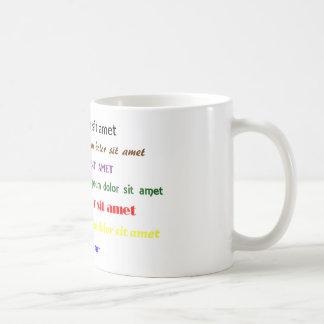 Lorem Ipsumのマグ コーヒーマグカップ