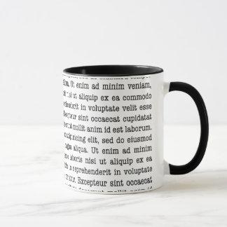 Lorem Ipsumのマグ マグカップ