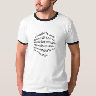 Lorem Ipsumの嘆きのTシャツ Tシャツ