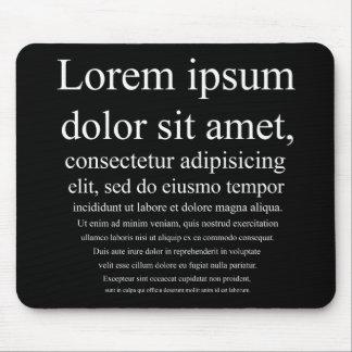 Lorem Ipsum マウスパッド
