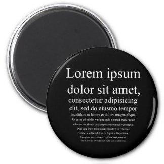 Lorem Ipsum マグネット