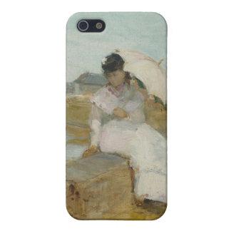 Lorient 1869年の港(キャンバスの油) iPhone 5 ケース