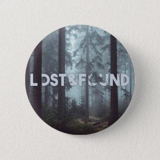 Lost&Foundボタン 5.7cm 丸型バッジ