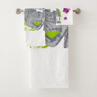 Lot de serviettes de bain Bouddha Zen バスタオルセット