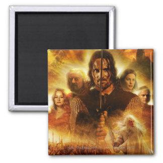 LOTR: ROTK Aragornの映画のポスター マグネット