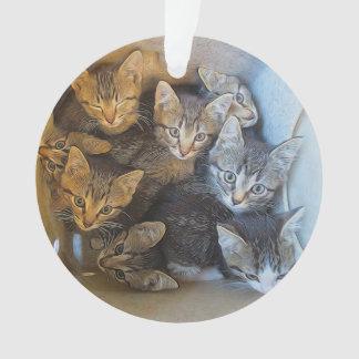 Lots of Kittens オーナメント