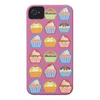 Lotsaのカップケーキのピンクのiphone 4ケース Case-Mate iPhone 4 ケース