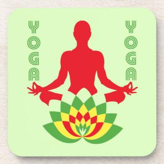 Lotus Flower Yoga コースター