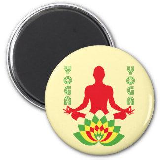 Lotus Flower Yoga マグネット
