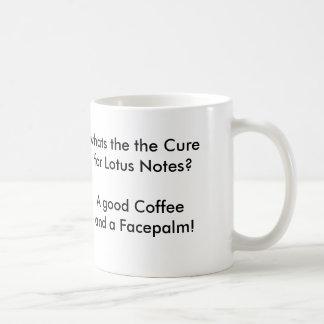 Lotus Notesまたはコーヒー朝 コーヒーマグカップ