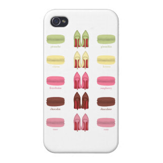 LOUBOUTINSおよびマカロン iPhone 4/4S CASE