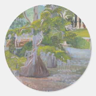 louisiana Cypress湖 ラウンドシール