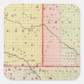 Loup、Blaine、Custerおよびローガン郡、ネブラスカ スクエアシール