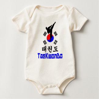❤☯✔Love韓国の軍芸術テコンドージャージー ベビーボディスーツ