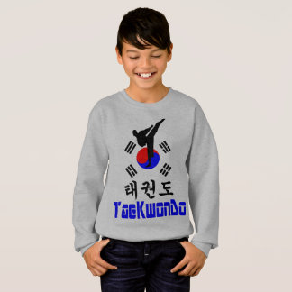 ❤☯✔Love韓国の軍芸術テコンドーCrewneck スウェットシャツ