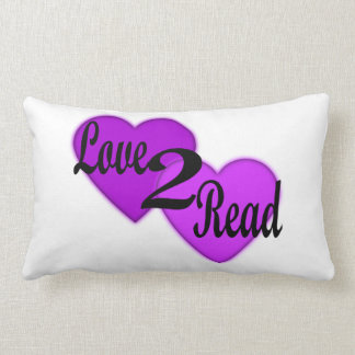 Love2Readの枕 ランバークッション