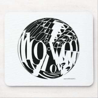 LOVE-20X20 マウスパッド