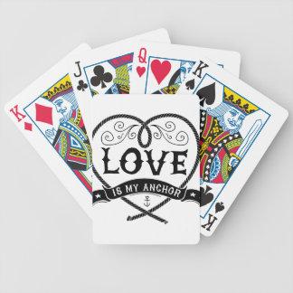 Love_is_my_anchor バイスクルトランプ