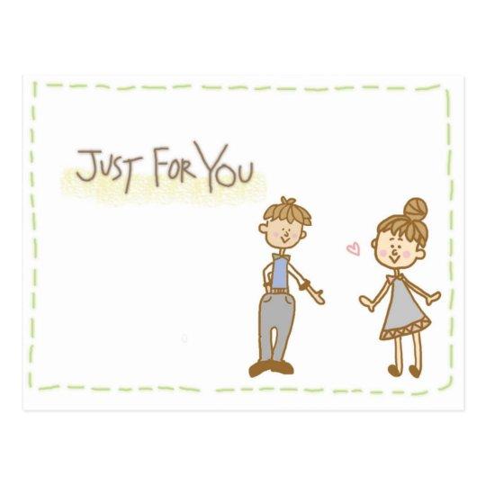 love letter ポストカード