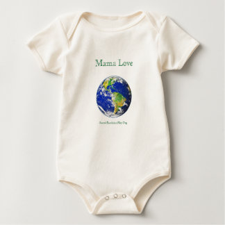 Love Organic Earth Babyママの服装 ベビーボディスーツ