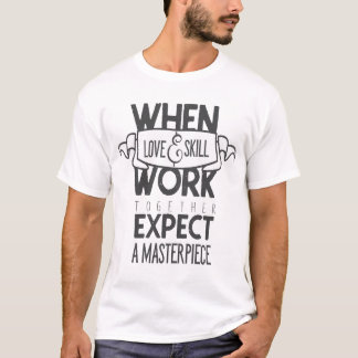 Love&Skillの声明のワイシャツ Tシャツ