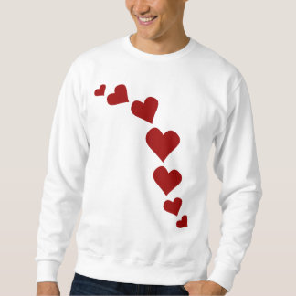 Love Sweatshirts人のバレンタインのワイシャツの女性の スウェットシャツ