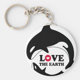 LOVE THE EARTH キーホルダー