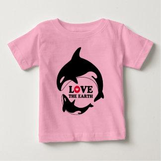 LOVE THE EARTH ベビーTシャツ
